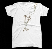 Unisex Keys V-Neck Shirt