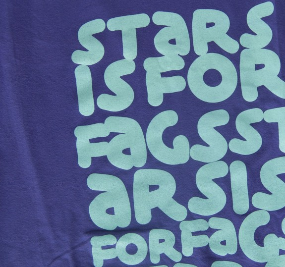 Unisex Stars is for Fags T-Shirt