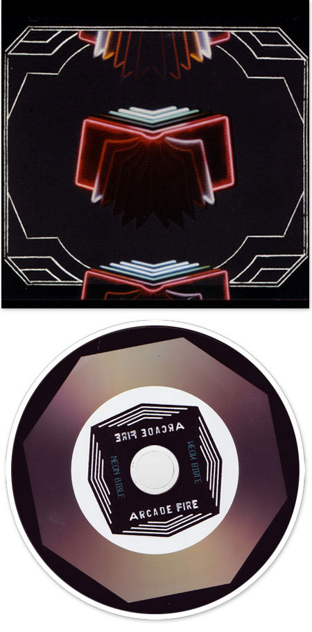 Cd neon bible arcade fire neon bible arcade fire for Miroir noir neon bible archives