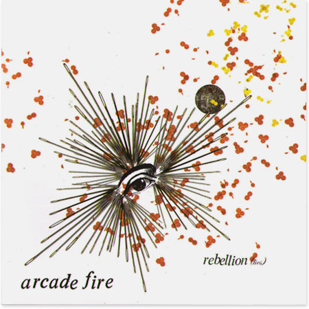 Cd single for Arcade fire miroir noir