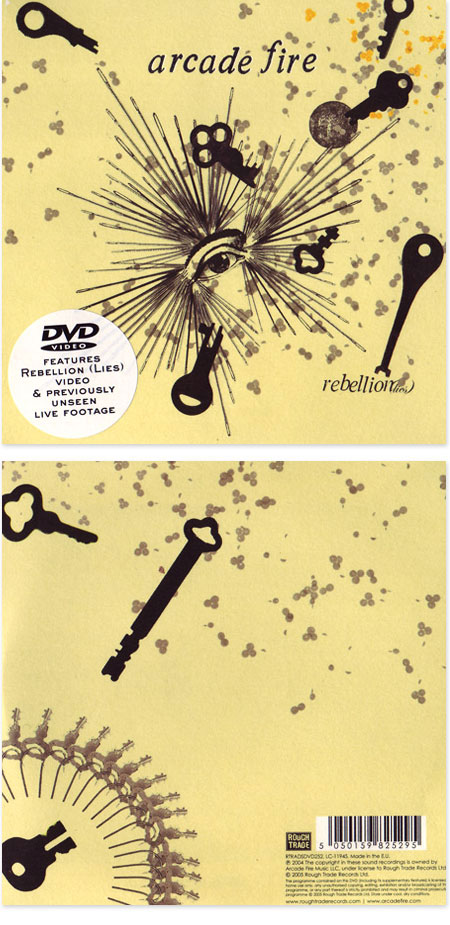 Dvd single rebellion lies arcade fire music for Arcade fire dvd miroir noir