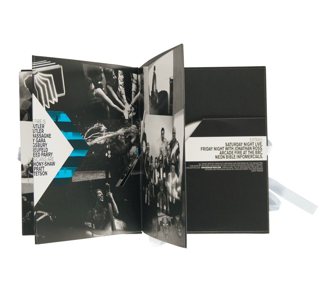 Miroir noir limited edition dvd music arcade fire for Miroir miroir montreal