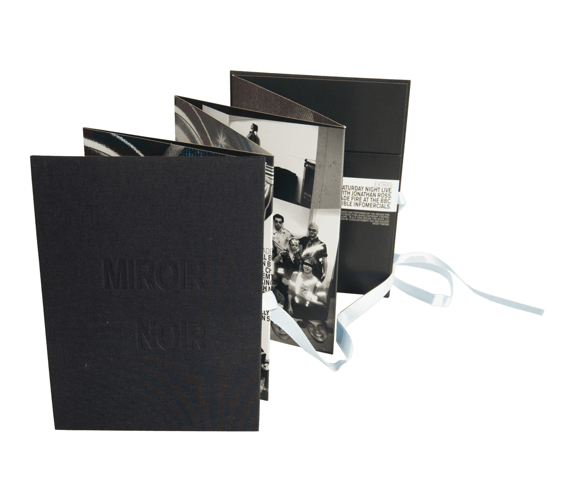 Miroir noir limited edition dvd albums arcade fire for Miroir online shop