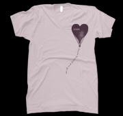Unisex Floating Away V-Neck T-Shirt