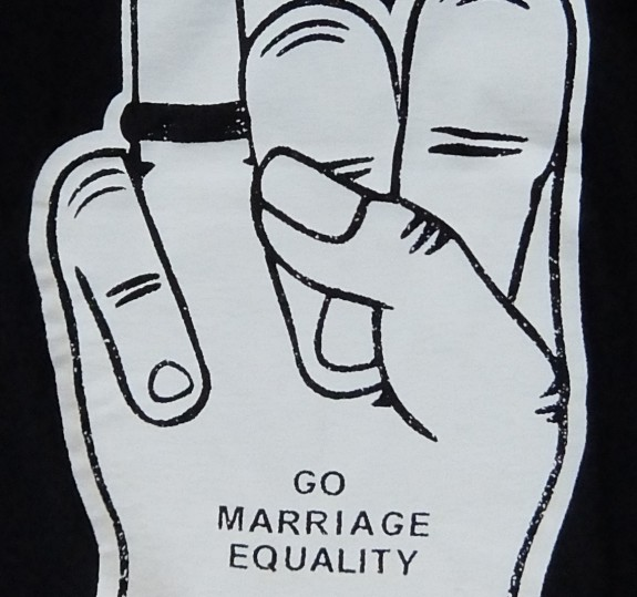 Marriage Equality Foam Hand T-Shirt