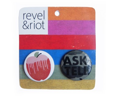 Ask, Tell Button Pack