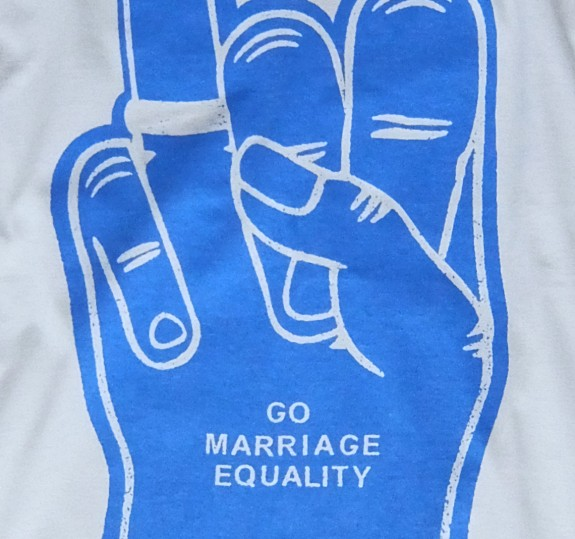 Marriage Equality Foam Hand Tank Top