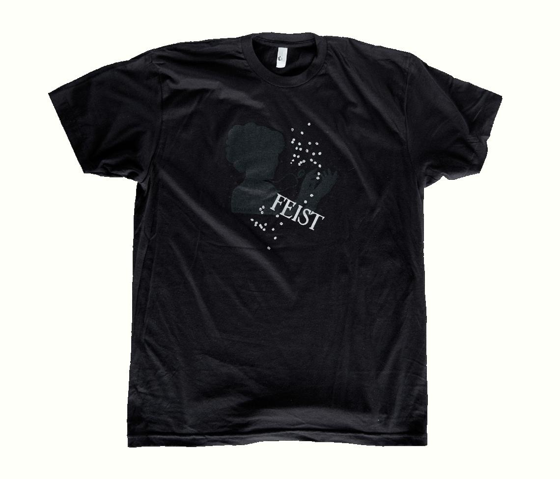 Men 39 s sealion t shirt black t shirts feist online store for Mens black shirts online
