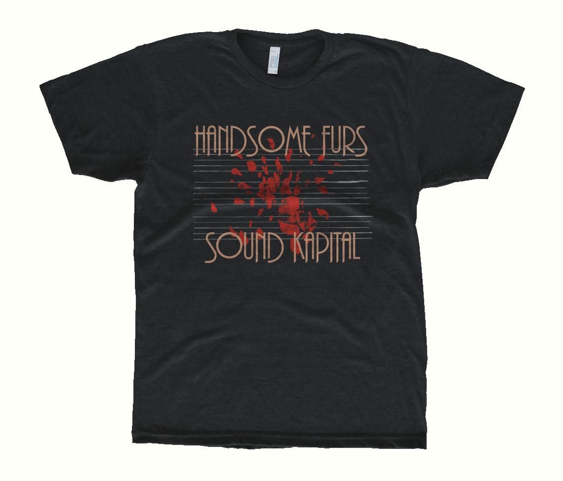 Unisex Sound Kapital T Shirt Heather Black T Shirts