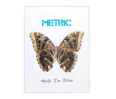 Help I'm Alive Butterfly Poster