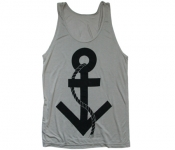 Unisex Trans Symbol Anchor Tank Top