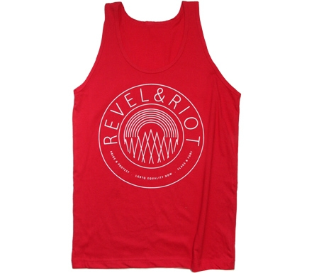 Unisex Revel & Riot Emblem Tank Top