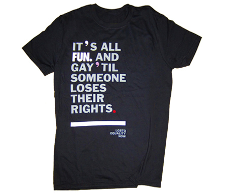 Unisex LGBTQ Equality T-shirt 