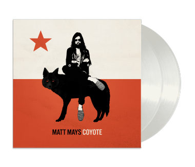 "Coyote 2x12"" Vinyl + CD (White)"