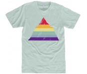 Unisex Rainbow Mountain T-Shirt