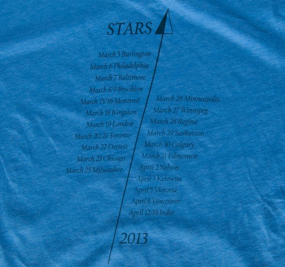 Men's 2013 NA Tour T-Shirt