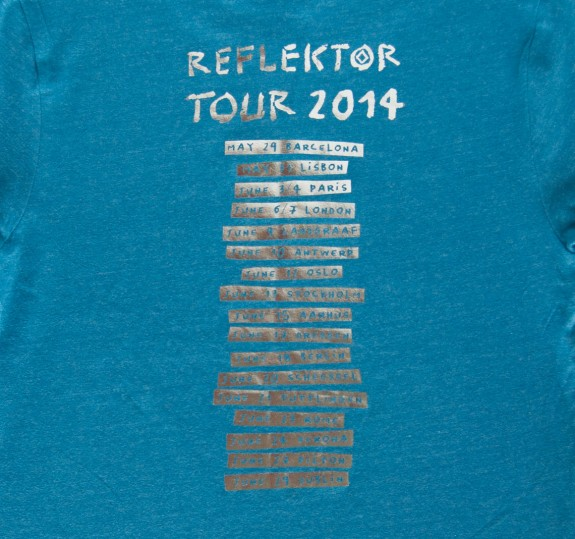 Euro Summer Tour 2014 T-Shirt