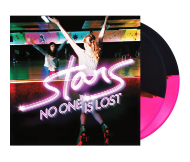 "No One Is Lost 2x12"" Vinyl (Pink/Black)"
