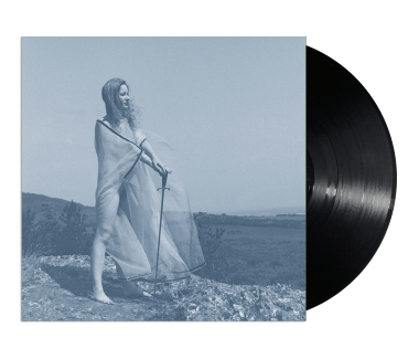 "Blue Record 12"" Vinyl EP (Black)"