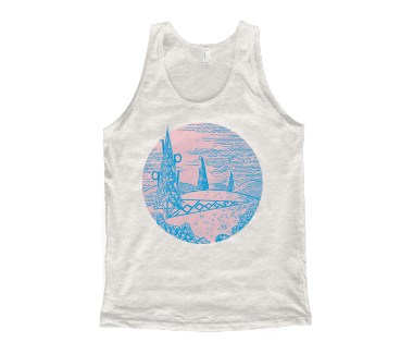 Unisex Towers Tank Top