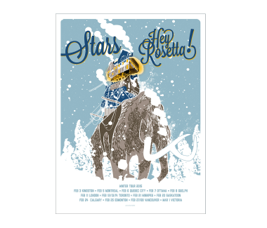 Winter 2015 Tour Poster