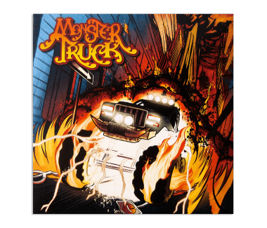 Monster Truck EP CD