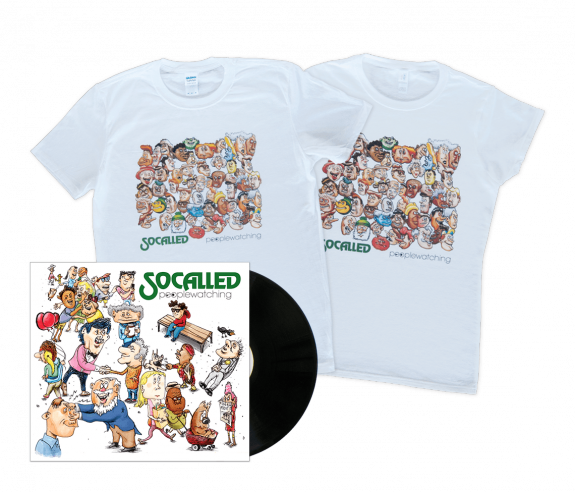 Build-Your-Own Peoplewatching Bundle: Vinyl + T-Shirt
