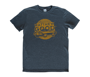 Men's Classic Car T-Shirt Dark Heather
