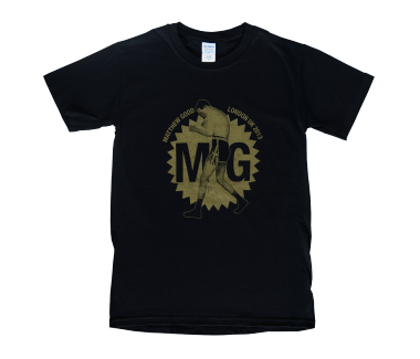 Men's Boxing Medallion T-Shirt Black