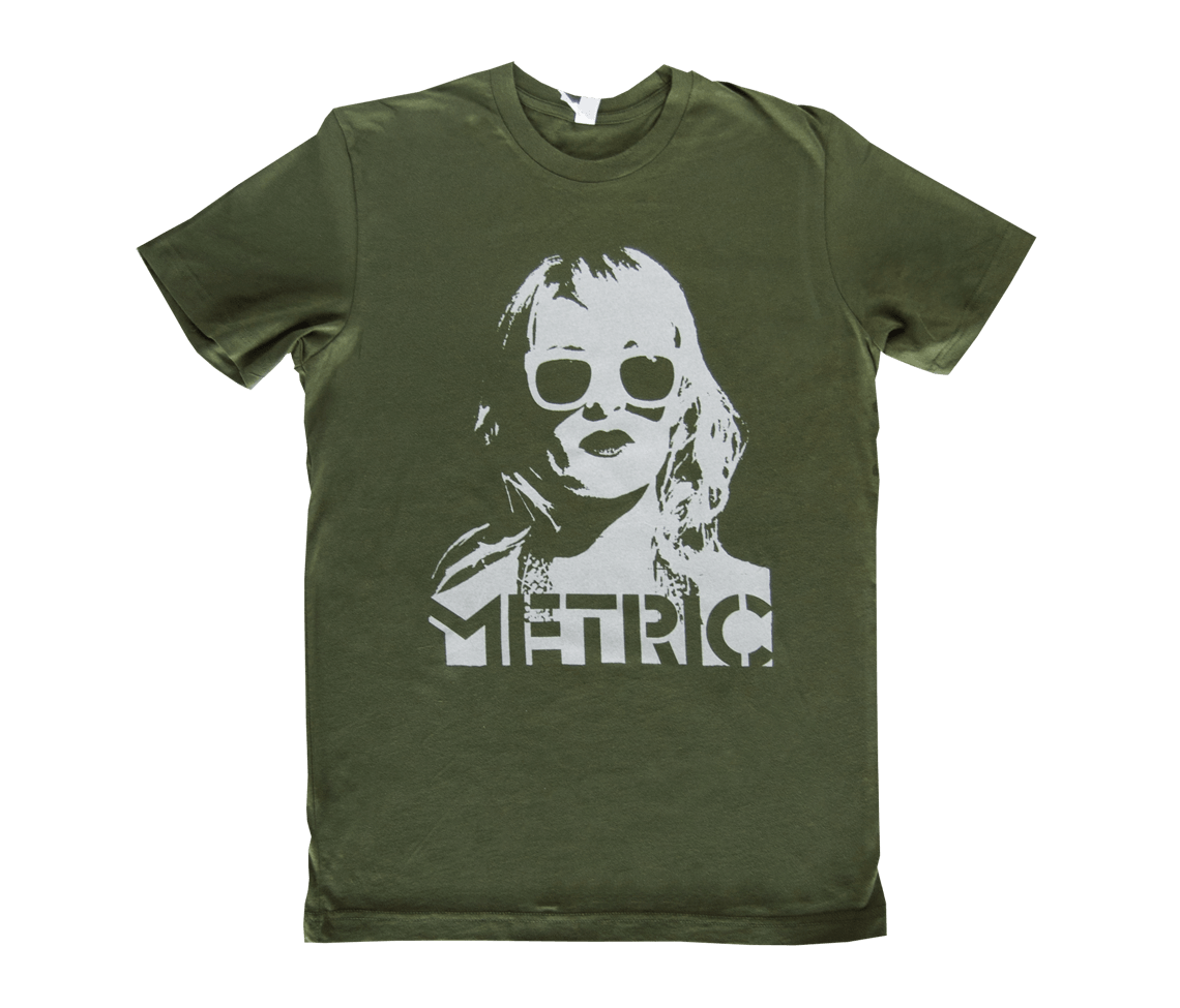 Face T Shirt Olive Apparel Metric Online Store