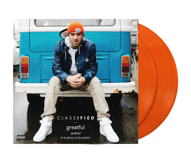 "Greatful 2x12"" Vinyl (Orange)"