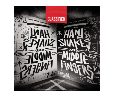 Handshakes + Middle Fingers CD