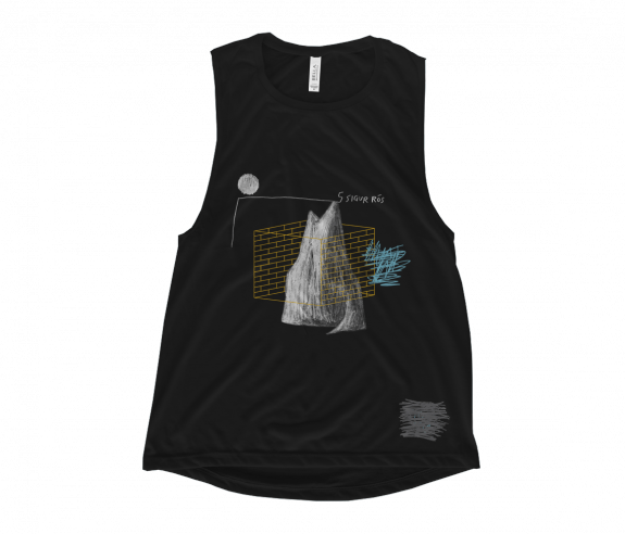 Women's Mountain Muscle Tank Top