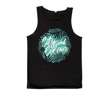 Unisex Palm Trees Tank Top
