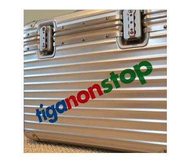 tiganonstop Sticker Set
