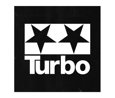 Turbo Logo Sticker