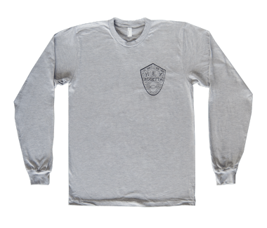 Unisex Crest Long Sleeve