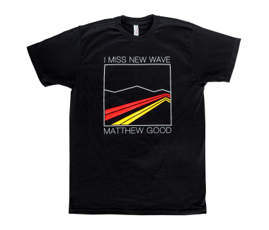 Unisex New Wave T-Shirt Black