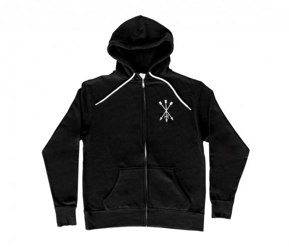 Unisex Arrow Eye Zip Hoody