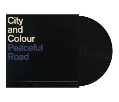 "Peaceful Road/Rain 12"" Vinyl Single (Black)"