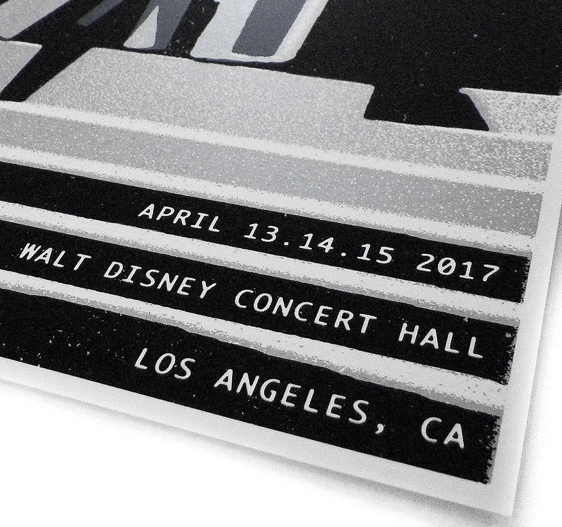 Disney  Poster Featured Sigur Rós Online Store - Los angeles poster black and white