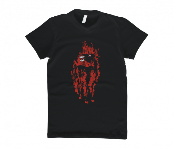 Women's Burning Horse T-Shirt