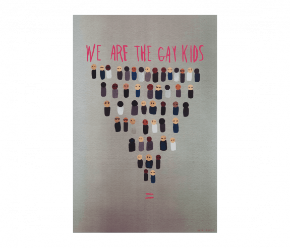 We Are The Gay Kids Poster