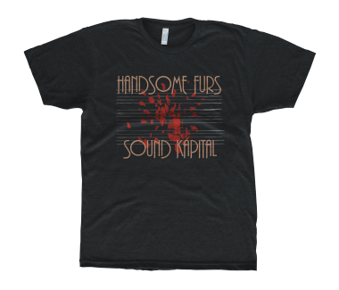 HANDSOME FURS Unisex Sound Kapital T-Shirt