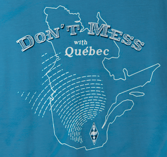 Don't Mess With Quebec T-Shirt