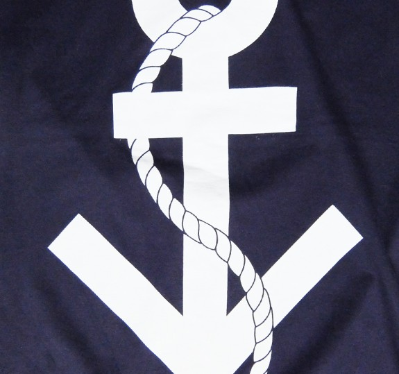 Trans Symbol Anchor T-Shirt