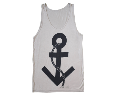 Trans Symbol Anchor Tank Top