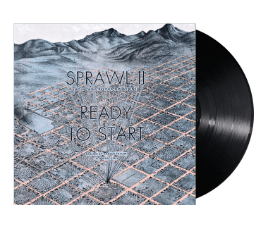 "Sprawl II / Ready To Start Remixes 12"" Vinyl Single"