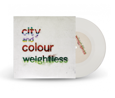 "Weightless 7"" Vinyl (White)"