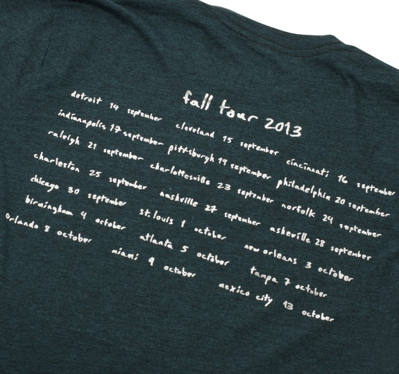 Fall Tour 2013 T-shirt